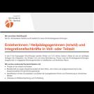 Erzieher / Heilpädagoge (m/w/d) und Integrationsfachkraft in Voll- oder Teilzeit