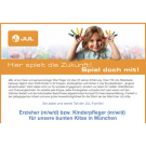 Erzieher (m/w/d) bzw. Kinderpfleger (m/w/d) für unsere bunten Kitas in München