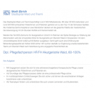 Dipl. Pflegefachperson HF/FH Akutgeriatrie Waid, 60-100%