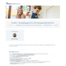 Erzieher / Sozialpädagoge (d/m/w) Kindertagesstätte Kids & Co.