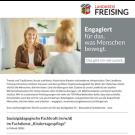 """Sozialpädagogische Fachkraft (m/w/d) im Fachdienst """"Kindertagespflege"""""""