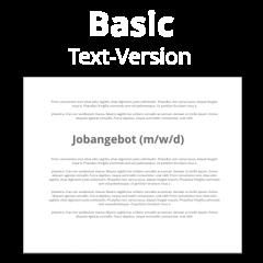 Basic-Stellenangebot