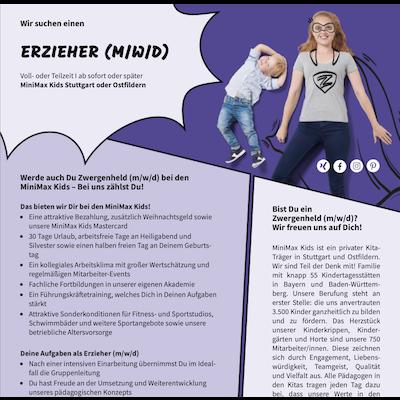 Erzieher (m/w/d)