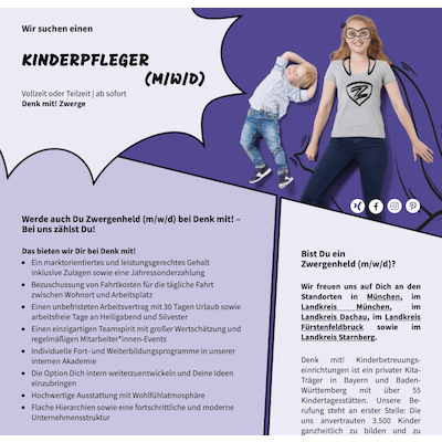 Kinderpfleger (m/w/d)
